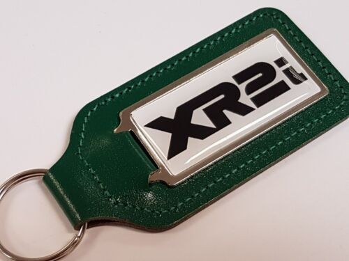 Xr2i black /& white writing Fund keychain with arched sticker