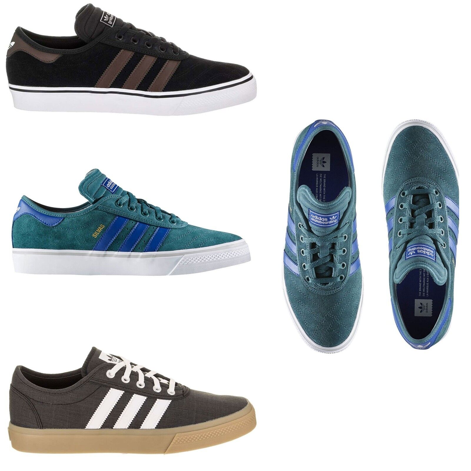NEW SkateBoard Adidas Men's ADI EASE PREMIERE ADV SkateBoard NEW Shoes Suede Canvas Sneakers 3e87df