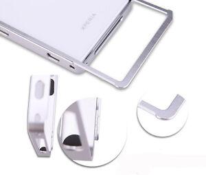 SO3-pour-Sony-Xperia-Z-L36h-Aluminium-Etui-de-Protection-Pare-Chocs-Housse-Film