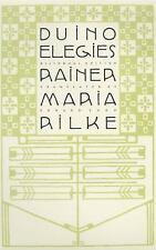 Duino Elegies : A Bilingual Edition by Rainer Maria Rilke (2001, Paperback,...