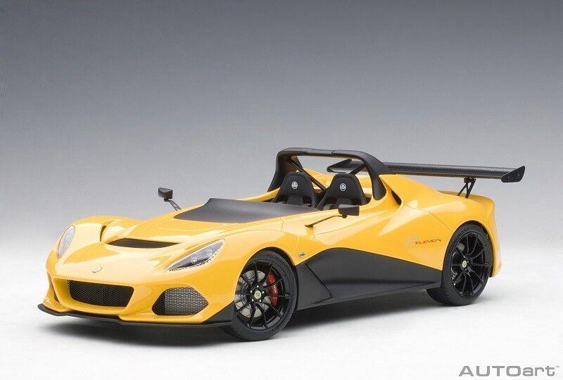75393 LOTUS 3-eleven  giallo   Composite modello / NO Openings , 1:18 AutoArt
