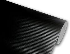 3d Matte Carbon Fiber Black Texture Vinyl Car Wrap Decal Sticker Film Roll Sheet