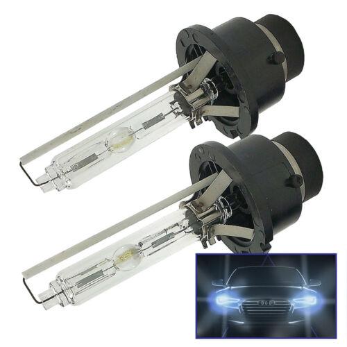 2x HID XENON Ampoule De Phare 6000k Glace D2S pour PEUGEOT RTD2SDB60PE