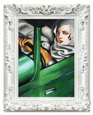 Tamara Lempicka Ölgemälde Handgemalt Leinwand 50x70 cm Schlafende Frau