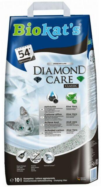 Biokat's Diamond Care Classic Katzenstreu, Hochwertige Klumpstreu für Katzen...