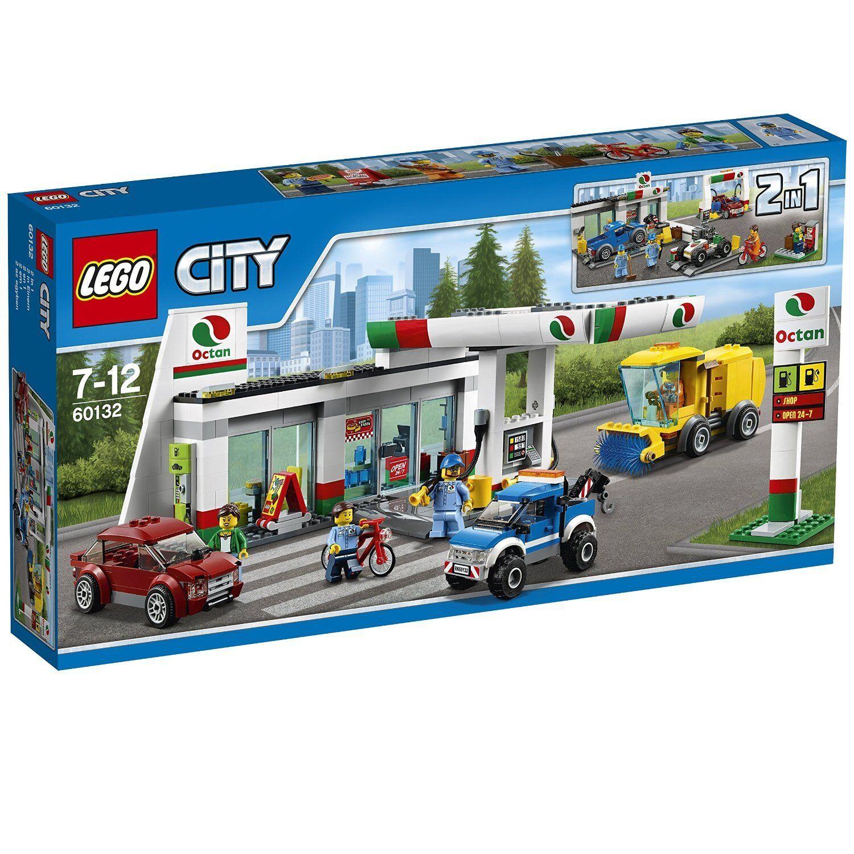 Lego 60132  Estación de Servicio  wholesape pas cher