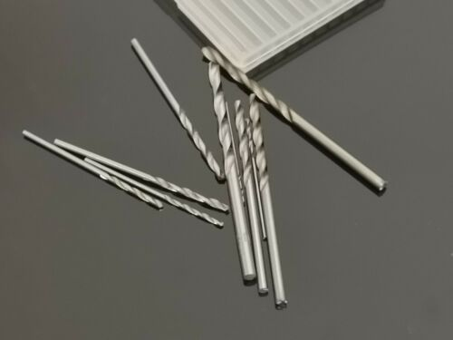 10pcs Micro Small Twist Drill Bit Set Craft Hobby Jewelly 0.8-3.0 mm