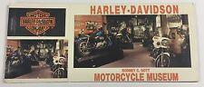 Harley Davidson Motorcycle Museum Postcard Booklet 8 Postcards