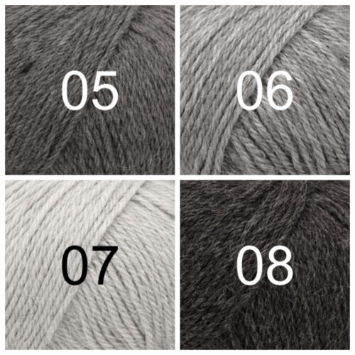 DROPS 100/% SuperFine Peruvian Alpaca DK yarn PUNA Oeko-Tex Untreated Fibre 50g