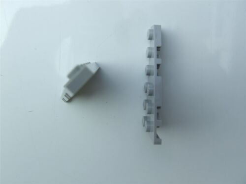 Parts /& Pieces size 3x6 with angle 2 x Lego Grey Right plate – 4282786