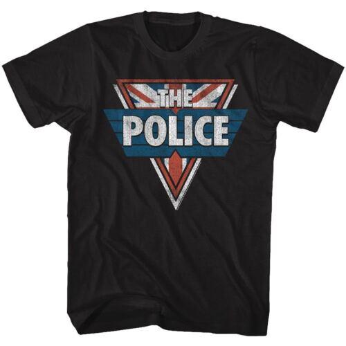 The Police Sting T-Shirt Sizes SM 5XL Shield 100/% Black Cotton Music Band