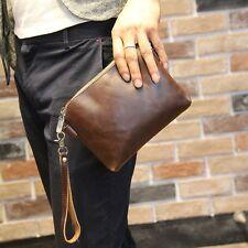 Clutch Bag Handbag Men's Fashion Faux Leather Business Briefcase Wallet Purse