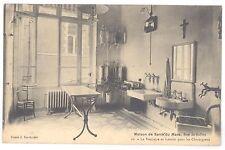 CPA 72 - LE MANS  Maison de santé du Mans - Vestiaire et lavabo des Chirurgiens