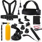 Sport Action camera Accessories Kit 9-in-1 Gopro Hero 5 4 3 2 1 Sjcam AKASO Pack