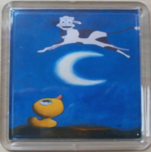 can be personalised The cow jumped over the moon coaster