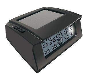 Solar Power Universal Car Tire Pressure Monitor Tyre Detection External Sensor