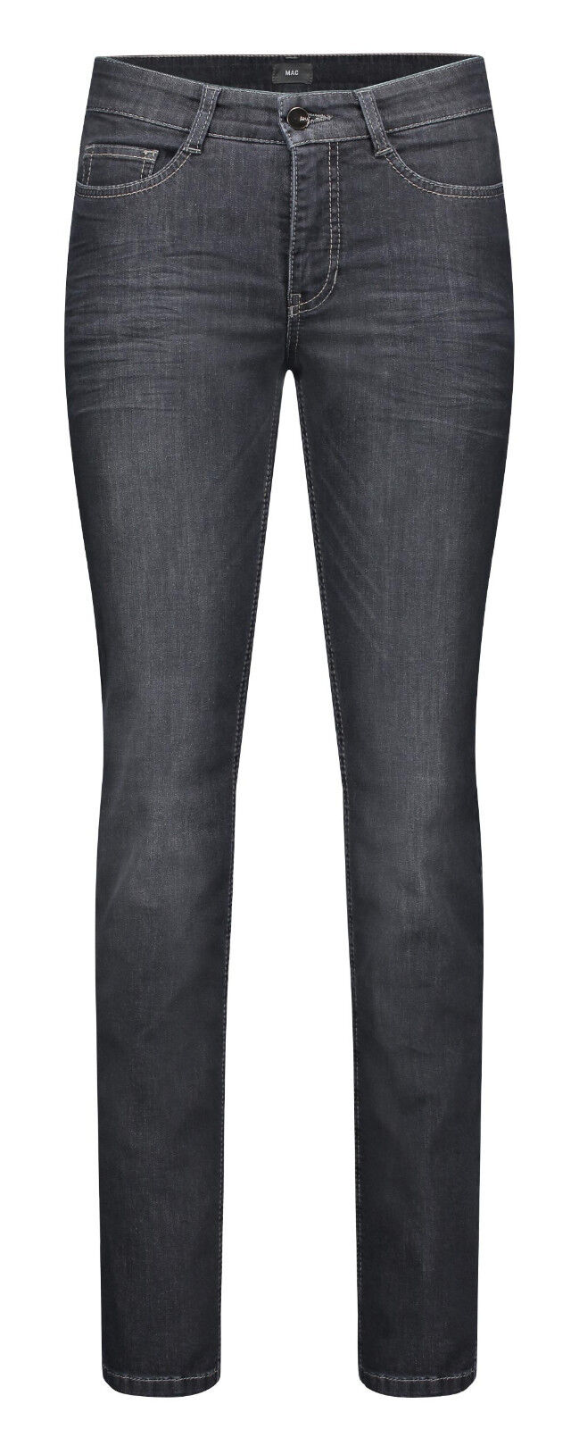 MAC Damen Jeans Angela 5240 NEU dark grau used D929