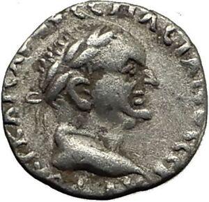VESPASIAN-69AD-Caesarea-Cappadocia-Authentic-Ancient-Silver-Roman-Coin-i65442