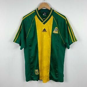 Adidas-Australia-Soccer-Jersey-Vintage-1998-2000-Era-Size-Mens-Large-Retro