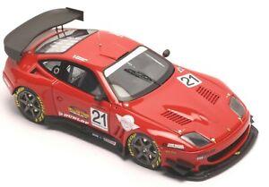Ferrari-550-Maranello-JGTC-2004-Metall-Bausatz-BBR-1-43-NEU-OVP