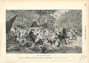 MARCHE-AUX-FLEURS-Madeleine-FLEURISTE-FRORIST-PARIS-FRANCE-GRAVURE-1874