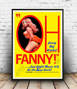 Oh-Fanny-Vintage-X-Movie-advert-poster-Wall-art-poster-reproduction