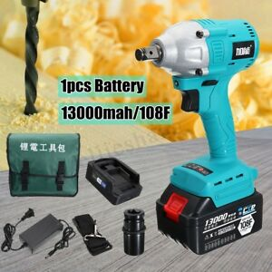 25V-Cordless-Electric-Impact-Wrench-Brushless-Rattle-Gun-Car-Torque-Driver-Tool