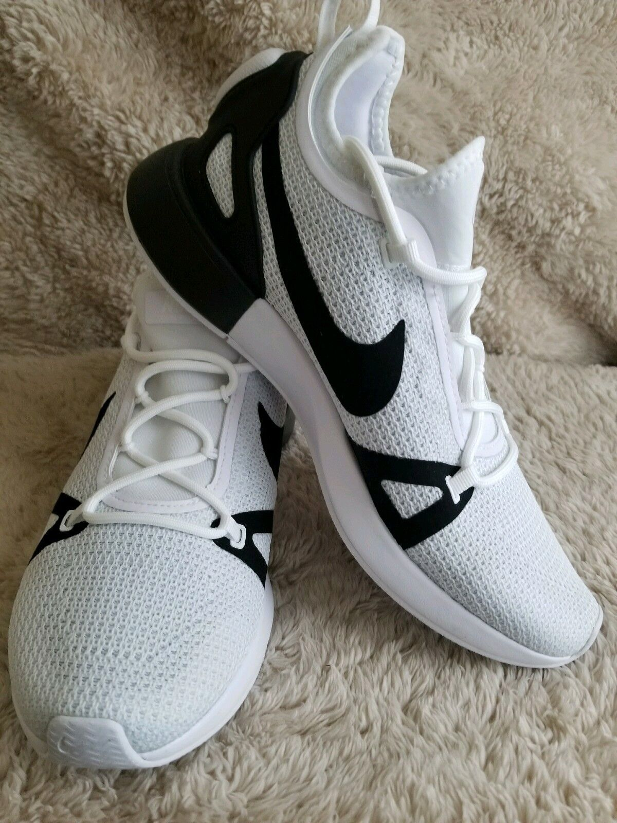 Nike Duel Racer 918228-102 White Black Platinum Men's Sportswear Running shoes