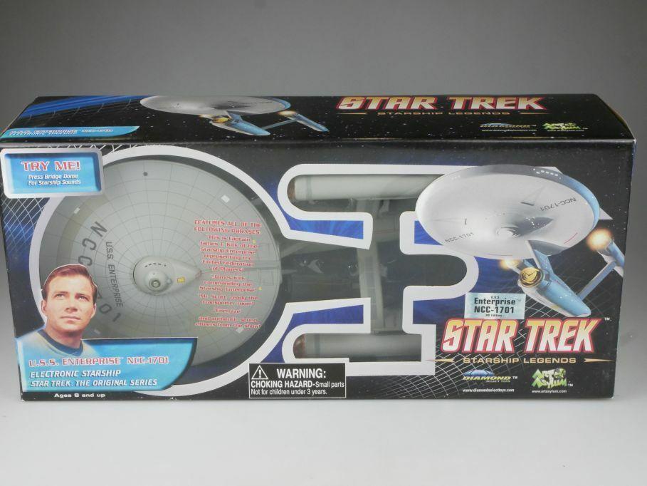 Star Trek USS Enterprise NCC-1701 HD Edition 40cm Diamond Select + Box 111710