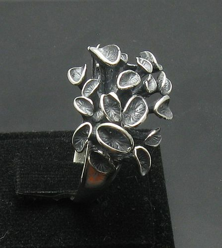 Extravagant Sterling Silver Ring Solid 925 Taille 3.5-11