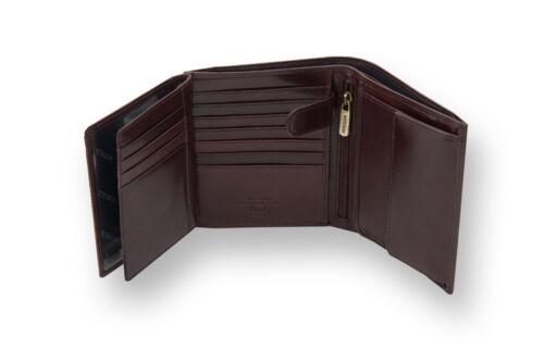 WITTCHEN exklusiv groß Herren Geldbörse Geldbeutel Portemonnaie Leder Portmonee