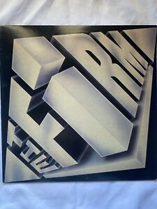 """THE FIRM-The Firm- 12"""" Vinyl Record LP - EX"""