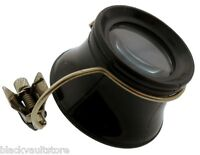 10x Jeweler's Eye Loupe With Clip-on For Glasses