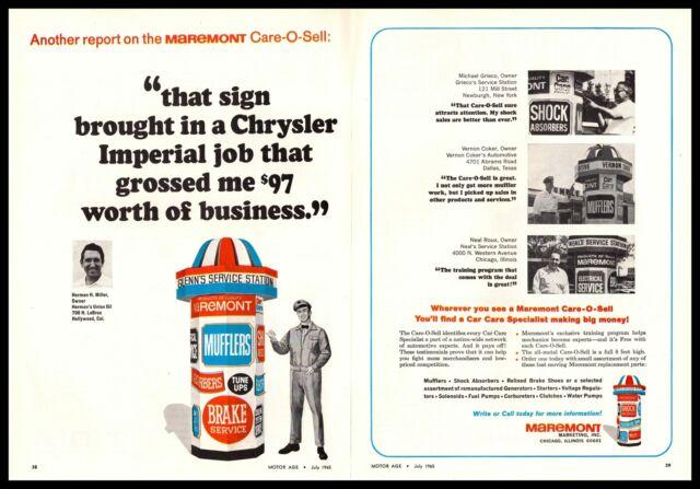 1965 Maremont Chicago  U0026quot Care