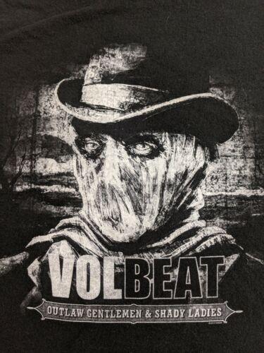 Volbeat 2014 US Tour Shirt Size 2XL XXL Outlaw Gen
