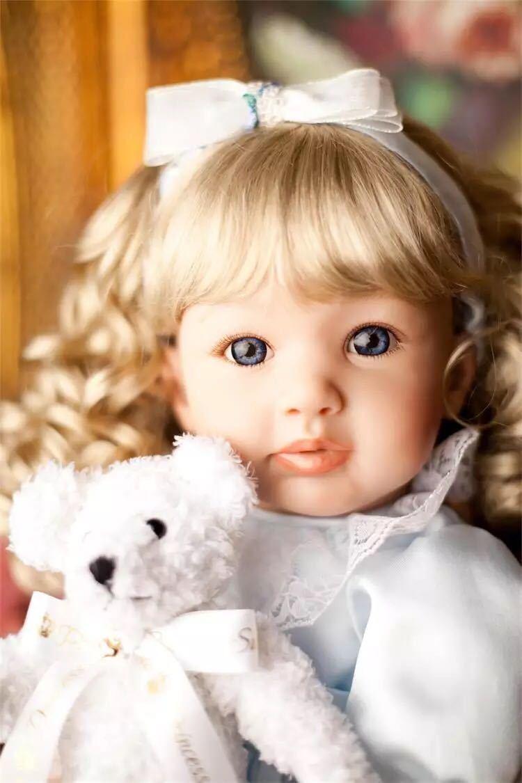2018 Muñecas Reborn Bebé Niño Niña Suave Silicona Vinilo vida como recién nacido 22
