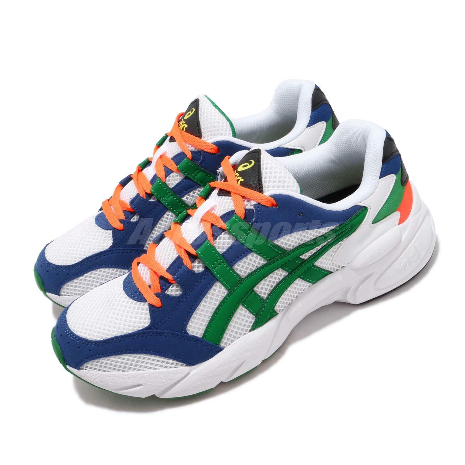 Asics Gel-Bnd blanco verde azul naranja Men Running Chunky zapatos 1021A145-100