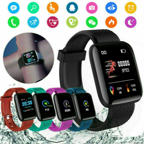 Waterproof Smart Watch Band Tracker Fitness Sport Activity f