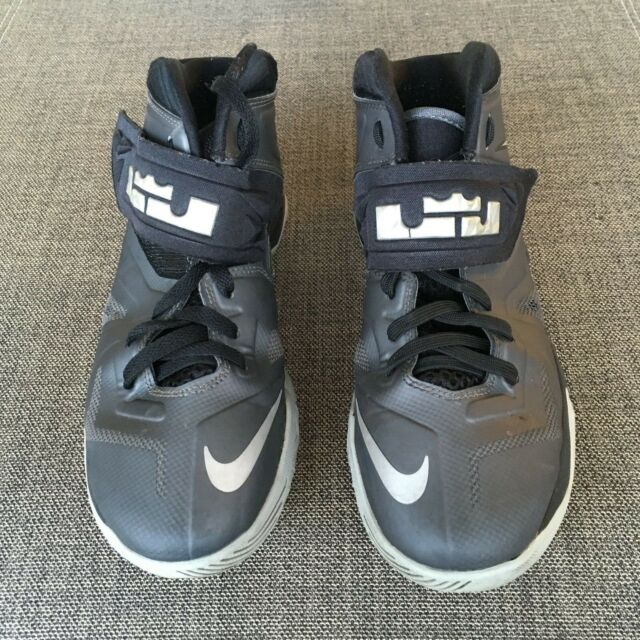 7b26ea7d3ed Nike Lebron James Zoom Soldier Basketball Shoes 599818-020 Size 6.5Y  Black Gray