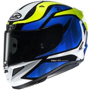 HJC-RPHA-11-Deroka-Blue-Sports-Full-Face-Motorbike-Motorcycle-Helmet