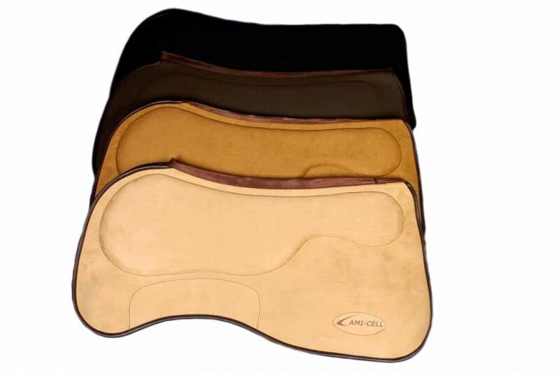 Lamicell Close Contact Trainerpad brown Westernpad Funktionspad