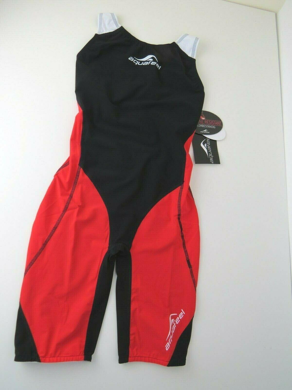 Nuevo Aquafeel para mujer I-Nov Racing Traje De Baño, Natación Traje Rojo Negro M, L, XL