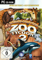 Zoo Tycoon 2 - Ultimate Collection (PC, 2012, Jewelcase)