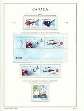 CANADA 2006  LIGHTHOUSE page 2006.6  OLYMPICS & SNOWBIRDS etc - M/sheet etc  MNH