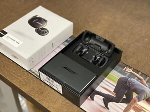 Bose SoundSport Free Wireless In-Ear Headphones Black with Case & Charger