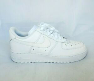 Details about Nike Air Force 1 07 LE Low All Triple White 315115-112  Women's Size 7