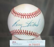 TRACY STALLARD SIGNED JSA AUTHENTICATED AMERICAN LEAGUE BASEBALL AUTOGRAPH