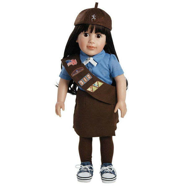 Agreeail, 45.7cm Girl Scout Marroneeie Bambola  di Adora  preferenziale