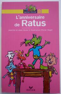 Details Sur Livre Poche L Anniversaire De Ratus De Guion Vogel