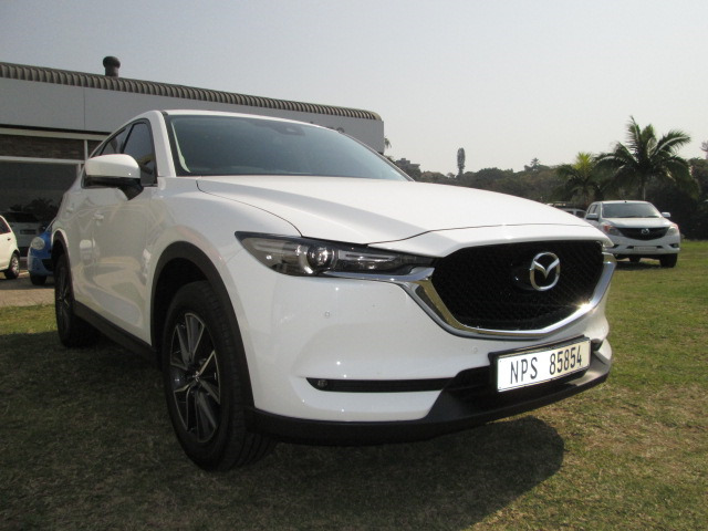 White Mazda Cx-5 2.5 Individual AWD AT with 21899km available now!